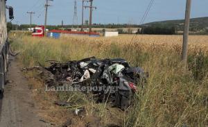 Χαλκίδα: Φριχτός θάνατος μέσα στο αυτοκίνητό του – Έγινε άμορφη μάζα [pics]