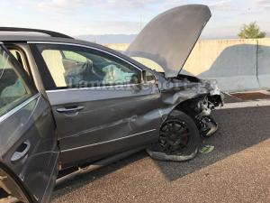 Φθιώτιδα: Βγήκαν όλοι ζωντανοί από αυτό το αυτοκίνητο – Τροχαίο στην εθνική οδό [pics]