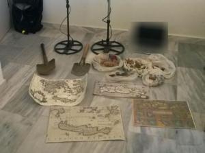 Χανιά: Τους έπιασαν να σκάβουν μέσα σε αρχαιολογικό χώρο [pic]