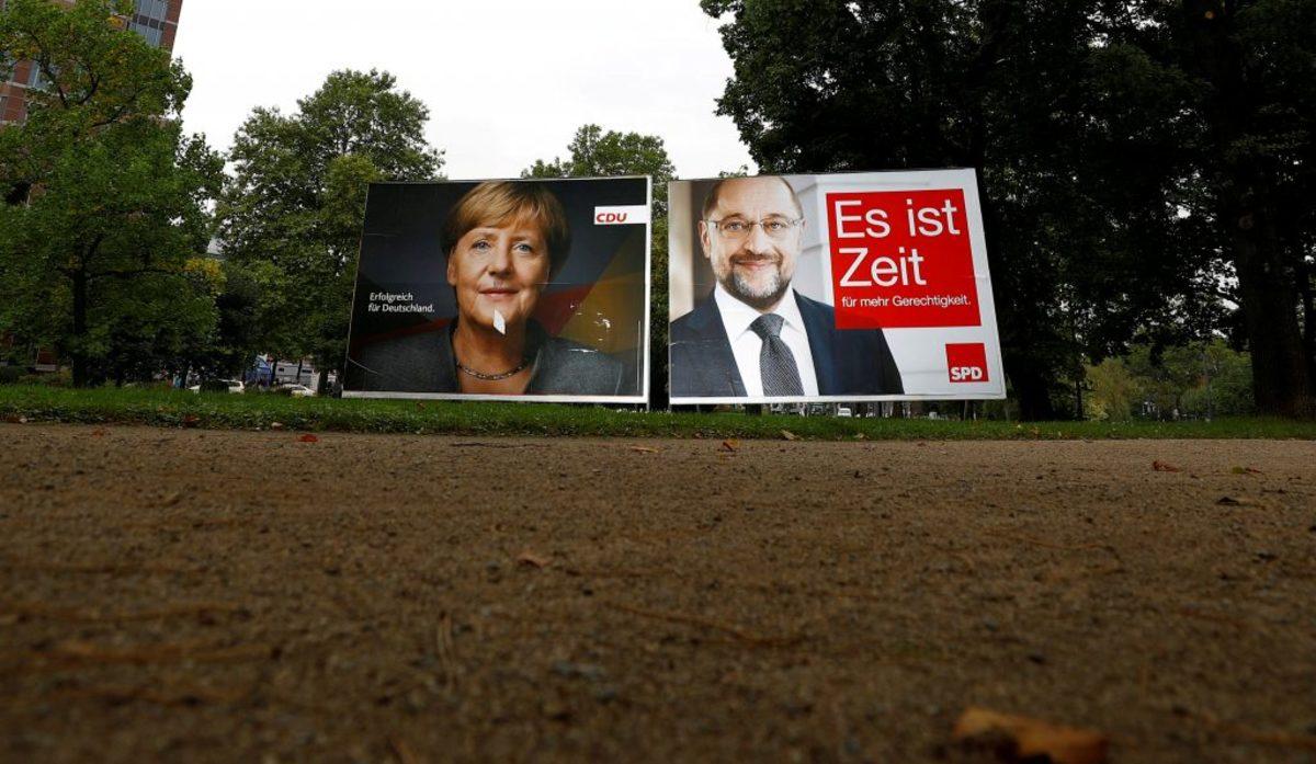 Γερμανικές εκλογές: Όλα έτοιμα για την μεγάλη μάχη Μέρκελ - Σουλτς! Τα κοινά τους σημεία είναι το Λότο και η προσευχή