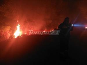 Φωτιά στην Αχαΐα: Πύρινη Κόλαση