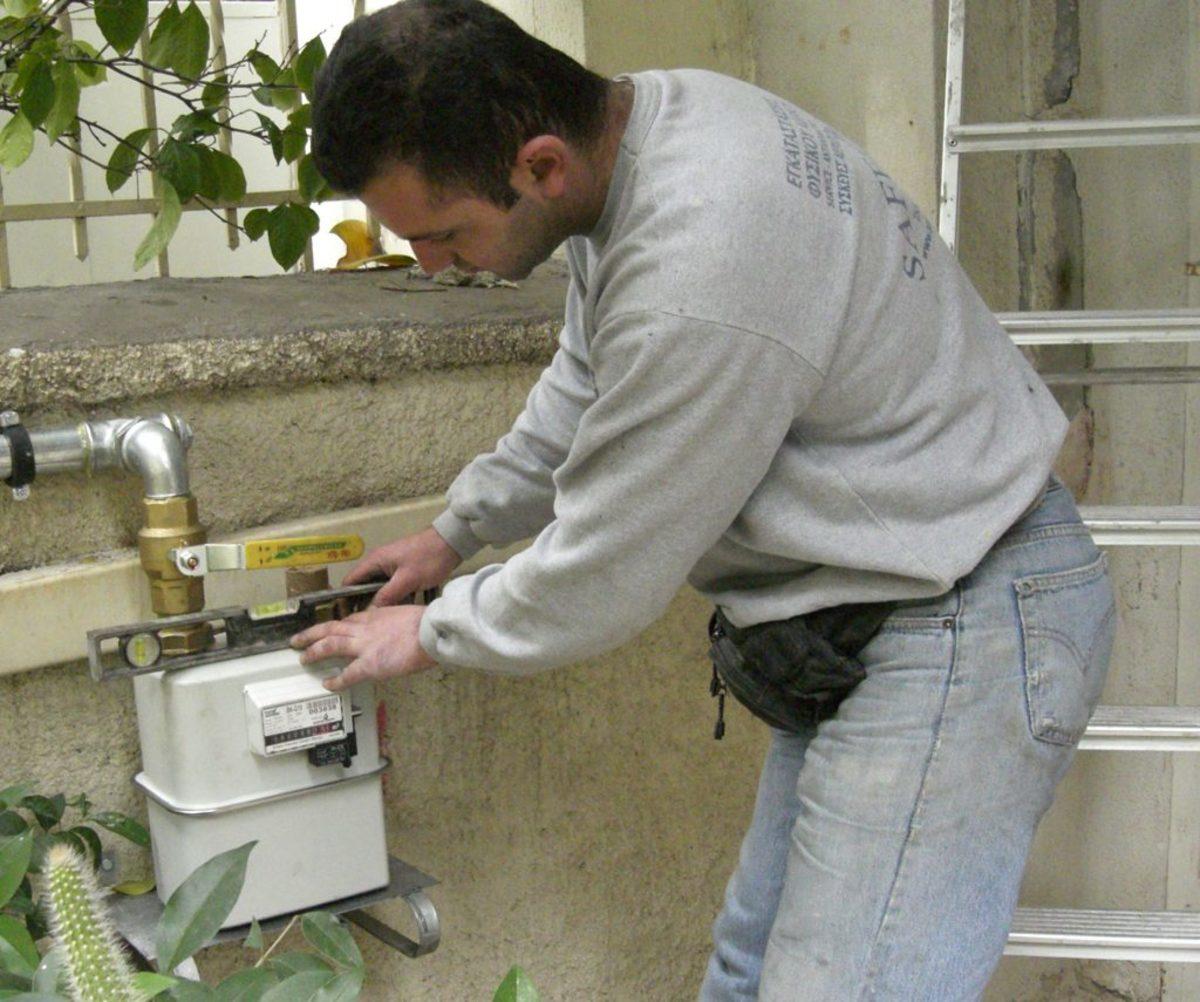 Θέρμανση εγκατάσταση φυσικού αερίου