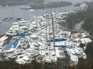 Κυκλώνας Irma: Όπως Κόλαση! Καταστράφηκε ο Άγιος Μαρτίνος – Τουλάχιστον 6 νεκροί