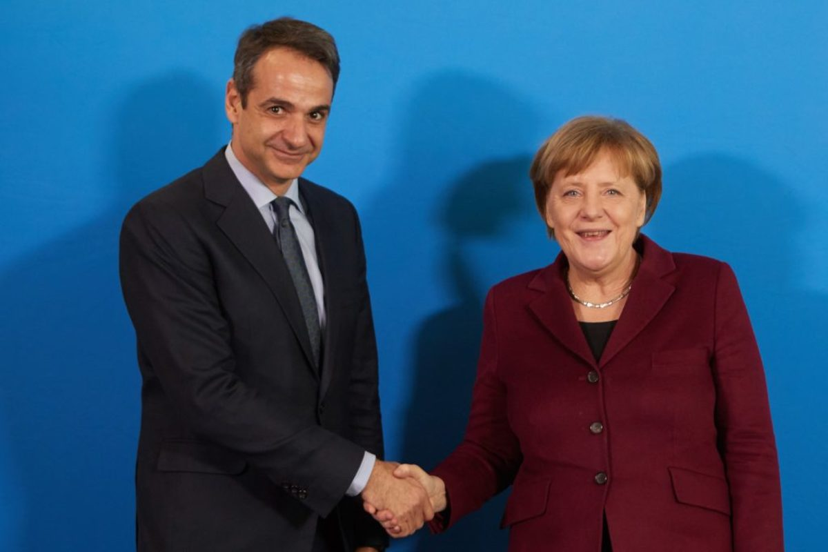 Γερμανικές εκλογές Μητσοτάκη Μέρκελ