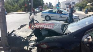 Πάτρα: Μία γυναίκα τραυματίστηκε σε σύγκρουση αυτοκινήτου με ποδήλατο!