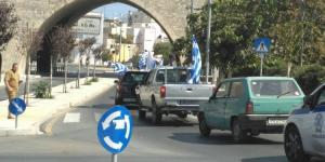 Οπαδοί του Αρτέμη Σώρρα έκαναν αυτοκινητοπομπή στο Ηράκλειο! [pics]