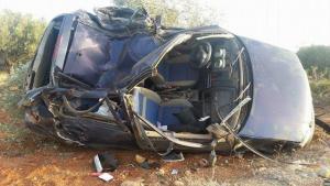 Κρήτη: Αγωνία για τους δύο νεαρούς τραυματίες του φοβερού τροχαίου – Αυτοψία στο σημείο [pics]