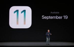 Κυκλοφόρησε το iOS 11!