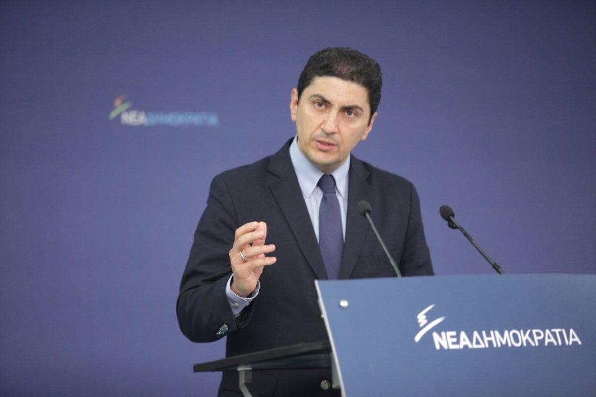 """Αυγενάκης για Τσίπρα: Ο καταληψίας πρωθυπουργός δε μπορεί να μιλά για την """"Ελλάδα του μόχθου"""""""
