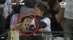 "Champions League: ""Τρελή"" πιτσιρίκα! Έτσι πανηγύρισε το διπλό της Ρεάλ [vid]"