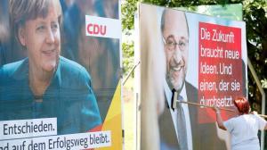 Debate Μέρκελ – Σουλτς: «Με την πλάτη στον τοίχο, θέλει να πάει για καβγά…»