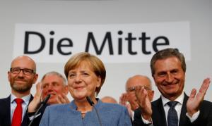 Γερμανικές εκλογές: Συγχαρητήρια στη Μέρκελ από Τσίπρα και Μακρόν