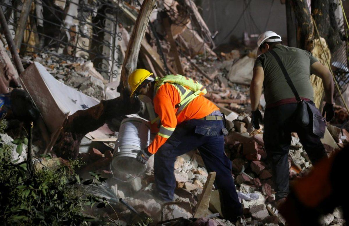 Σεισμός Μεξικό σχολείο