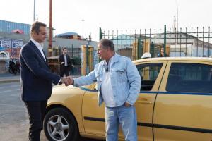 Μητσοτάκης – ταξιτζήδες τα… είπαν για το Taxibeat [pics]