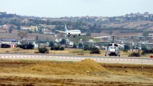 """Αναγκαστική προσγείωση αεροσκάφους στο αεροδρόμιο """"Μακεδονία"""""""