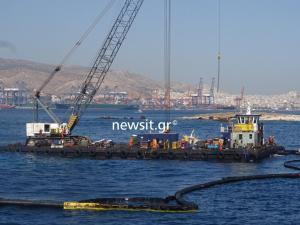 Πετρελαιοκηλίδα: Αυτοψία στο σημείο του ναυαγίου – Τεράστιο το πλήγμα από την ρύπανση [pics, vid]