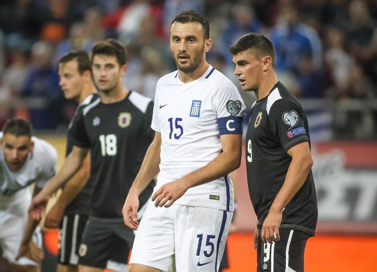 Τοροσίδης - Εθνική Ελλάδας