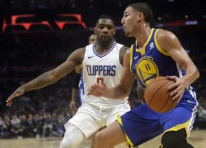 NBA: Σαρωτικοί! Οι Γουόριορς έκαναν… πλάκα στο Λος Άντζελες [vids]