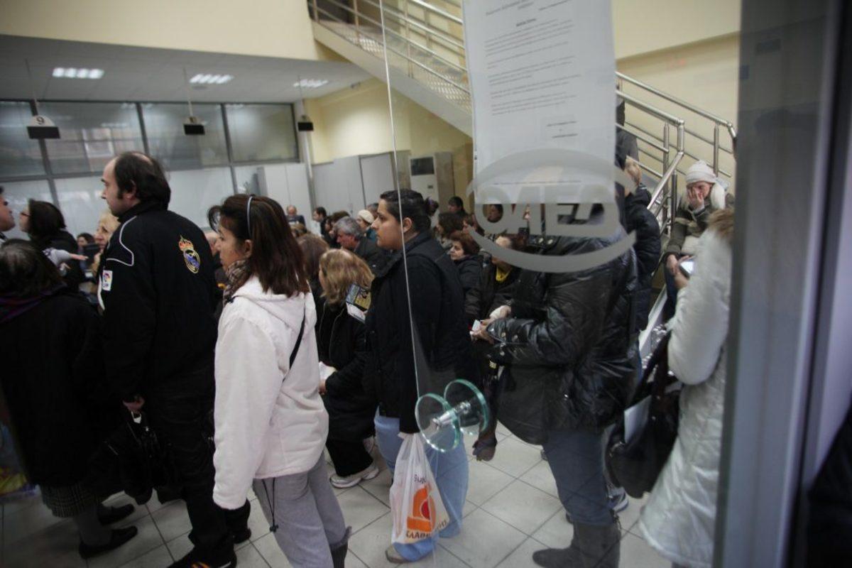 ανεργία Eurostat Ελλάδα