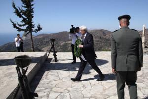 Παυλόπουλος: Αδιαπραγμάτευτη η θέση μας για τη διεκδίκηση των κατοχικών αποζημιώσεων