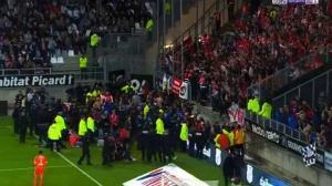 Κατέρρευσε κιγκλίδωμα στο «Stade Licorne»: Επείγουσα έρευνα διέταξε η γαλλική Λίγκα
