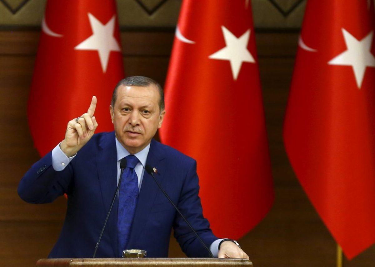 Ερντογάν εντάλματα σύλληψης