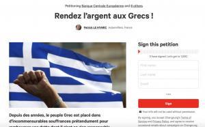 Οι Γάλλοι μαζεύουν υπογραφές για να επιστραφούν 7,8 δισ. στην Ελλάδα!