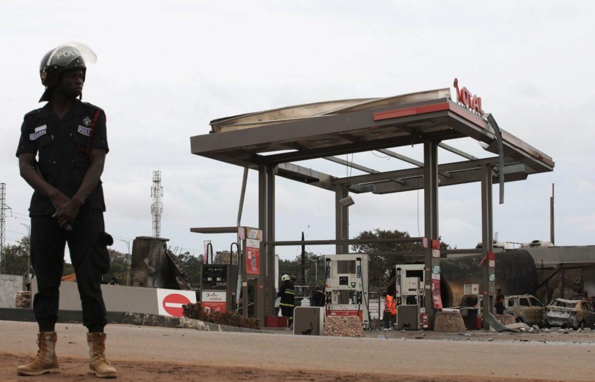 Γκάνα: Έξι νεκροί και 35 τραυματίες από έκρηξη σε βενζινάδικο [pics]