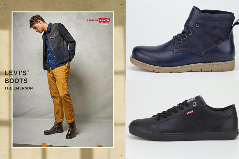 "Casual ή όχι, η Levi's έχει την ""απάντηση"" στα ανδρικά παπούτσια"