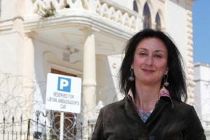 Δολοφονία Μαλτέζας δημοσιογράφου: Με ένα κινητό πυροδότησε ο δράστης στην βόμβα