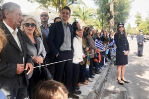 28η Οκτωβρίου: Στην… παρέλαση της Δάφνης (του) ο Κυριάκος Μητσοτάκης