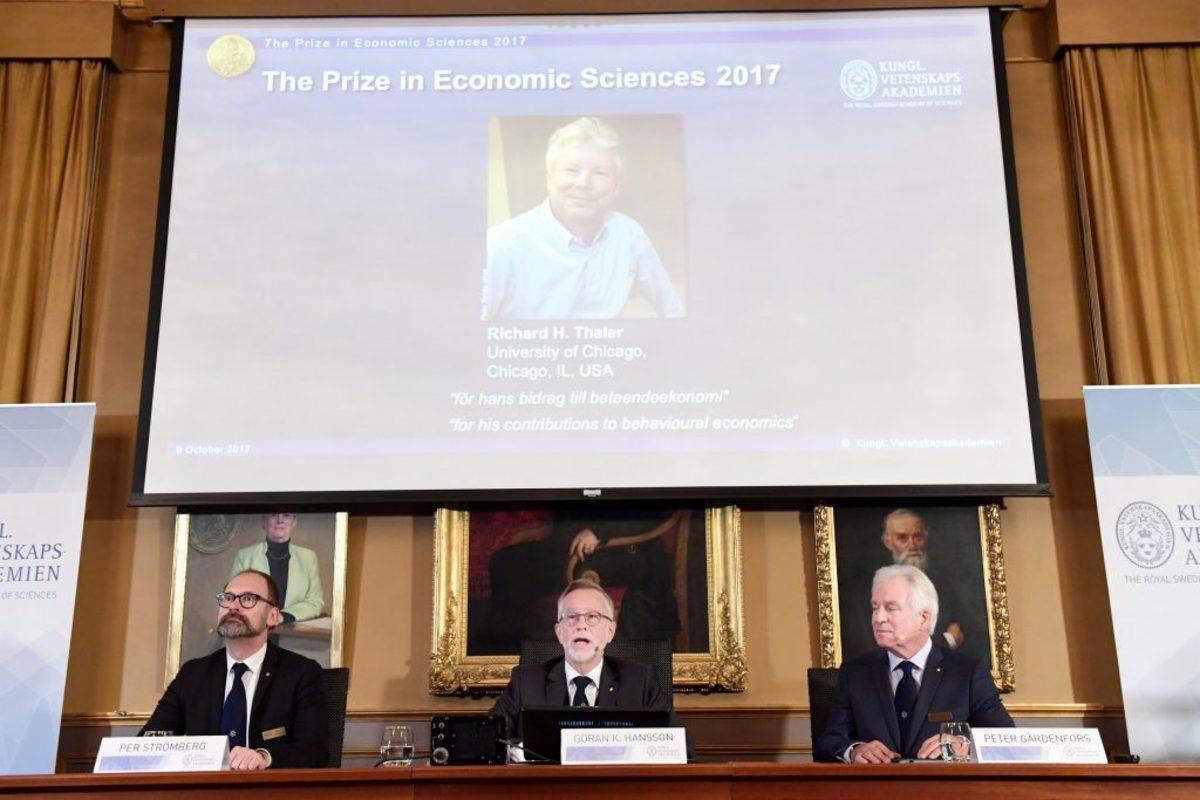 Νόμπελ Οικονομίας Ρίτσαρντ Θέιλερ