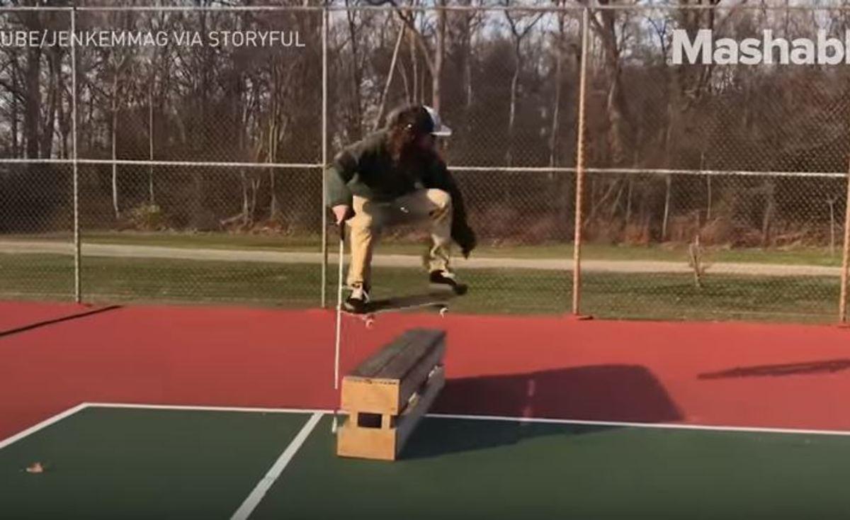 Τυφλός skater αποδεικνύει ότι στη ζωή μπορούμε να κάνουμε τα πάντα