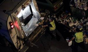 Πάτρα: Σακούλα με όπλα και σφαίρες έσκασε στα χέρια υπαλλήλου καθαριότητας [pics, vid]