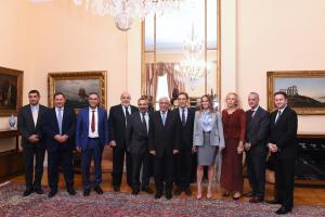 Συνάντηση Προκόπη Παυλόπουλου με εκπροσώπους του ΣΕΠΕ και επικεφαλής βραβευμένων εταιρειών