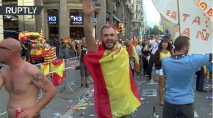 """Ισπανία: Οι ναζί βγήκαν από το… καβούκι τους και """"πλημμύρισαν"""" τους δρόμους σε Μαδρίτη και Βαρκελώνη [vids]"""
