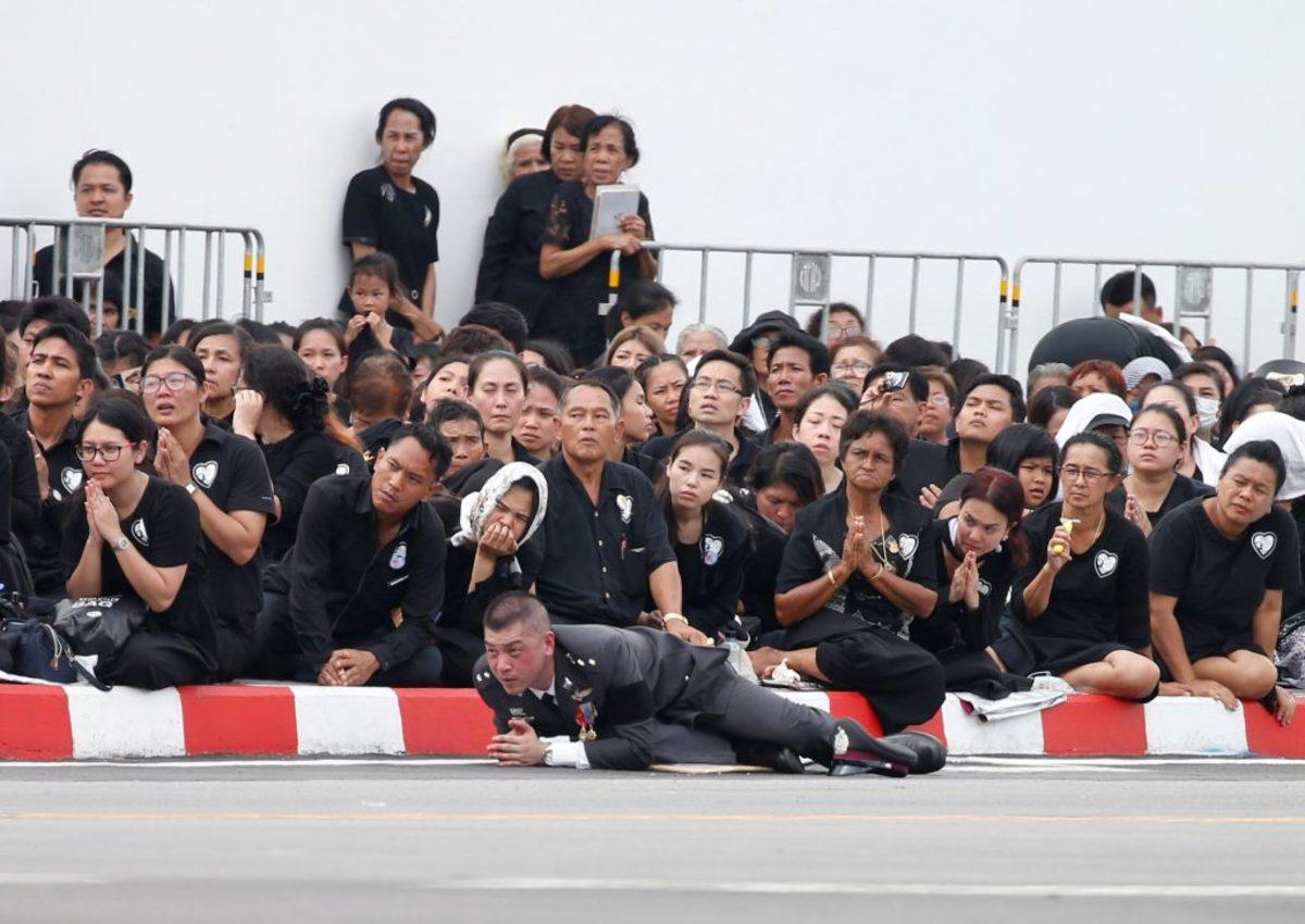 Ταϊλάνδη βασιλιάς κηδεία