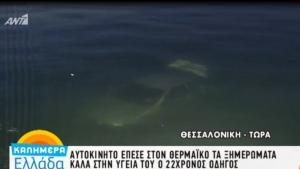 Έπεσε στο λιμάνι της Θεσσαλονίκης – Τρόμος για 22χρονο