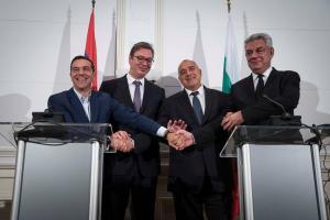 Ο Αλέξης Τσίπρας στην πρώτη Τετραμερή Σύνοδο Κορυφής Ελλάδας – Βουλγαρίας – Σερβίας – Ρουμανίας [pics]