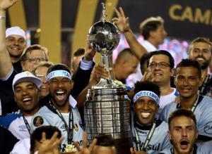 Copa Libertadores: Θριαμβεύτρια Γκρέμιο