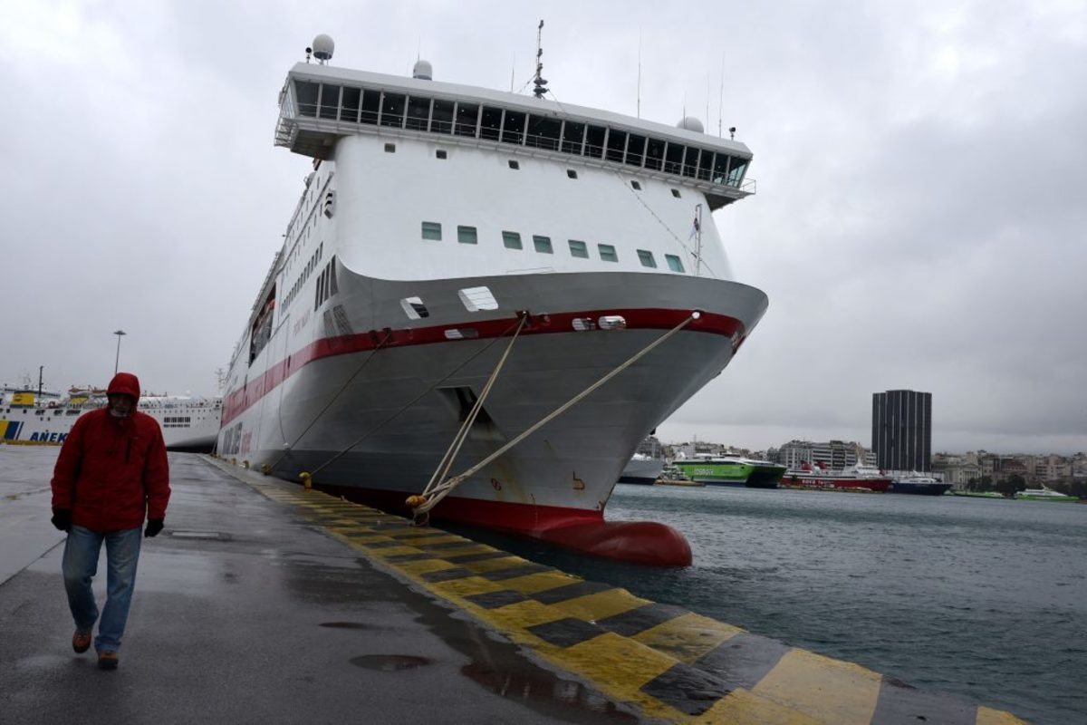 Κέρκυρα: Απαγορευτικό απόπλου για πλοία ανοιχτού τύπου λόγω των ισχυρών ανέμων 8 μποφόρ!