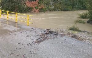 Ιωάννινα: Η βροχή προκάλεσε προβλήματα σε δρόμους