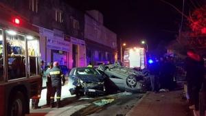 Ηράκλειο: Τροχαίο με 5 τραυματίες – Οι εικόνες λίγο μετά τη σφοδρή σύγκρουση των δύο αυτοκινήτων [pics]
