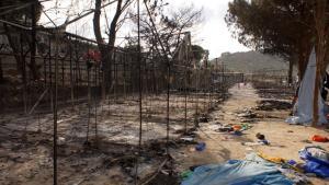 Λέσβος: Νέα επεισόδια με ζημιές στη Μόρια – Πεδίο μάχης ξανά το κέντρο υποδοχής προσφύγων και μεταναστών!