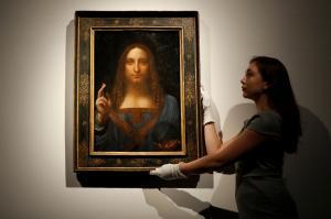 Ο «Ιησούς» του Λεονάρντο ντα Βίντσι: Τον πούλησε 45 λίρες και ξαναπουλήθηκε 450,3 εκατομμύρια!