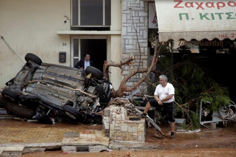 Επτά νεκροί και πολλοί αγνοούμενοι στην Μάνδρα από τις πλημμύρες! Απίστευτη τραγωδία