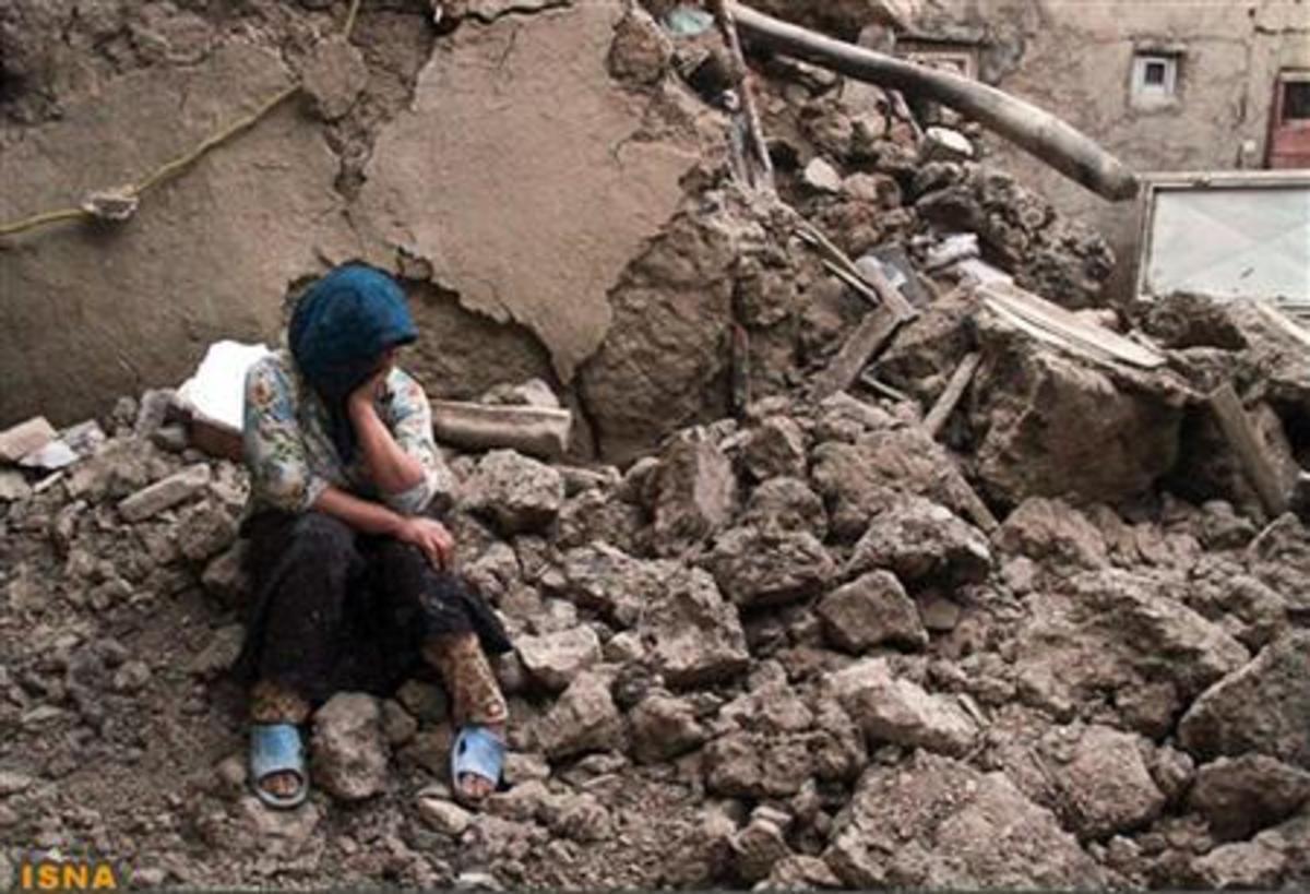 Ιράν σεισμός