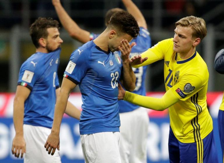 """Η Σουηδία """"πέταξε"""" εκτός Μουντιάλ 2018 την Ιταλία! [vid]"""