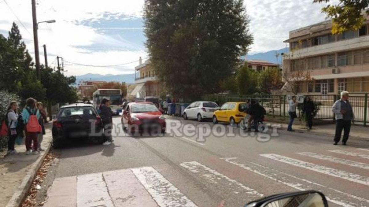 Λαμία: Αυτοκίνητο παρέσυρε 9χρονο κοριτσάκι έξω από σχολείο