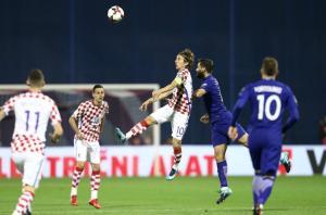 """Κροατία – Ελλάδα 4-1 ΤΕΛΙΚΟ: """"Ναυάγιο"""" στο Ζάγκρεμπ – Χάνεται η πρόκριση για το Μουντιάλ της Ρωσίας"""